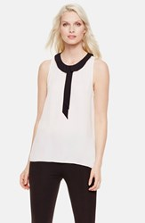 Women's Vince Camuto Collared Sleeveless Blouse New Ivory