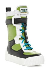 Marc By Marc Jacobs Platform Sneaker Boot Multi