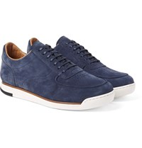 John Lobb Porth Suede Sneakers Storm Blue