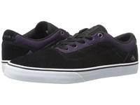 Emerica The Herman G6 Vulc Black Purple Men's Skate Shoes Multi