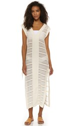 Solid And Striped The V Pullover Maxi Dress Cream