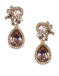 Givenchy Pear Drop Earrings Gold