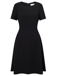 John Lewis Fit And Flare Dress Black