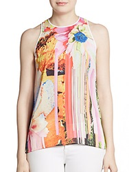 Clover Canyon Printed Sleeveless Tank Multi