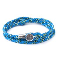 Anchor And Crew All Blue Dundee Rope Bracelet