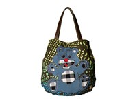 Vivienne Westwood Africa Manhole Shopper Green Manhole Tote Handbags Multi