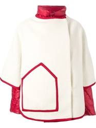 Tsumori Chisato Layered Padded Coat White
