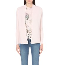 Ted Baker Textured Cashmere Wrap Nude Pink