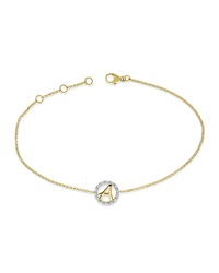 Kc Designs 14K Yellow Gold Initial Bracelet A