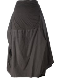Rundholz Paneled Skirt Grey