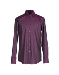 Boss Black Shirts Shirts Men Purple