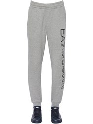 Emporio Armani Logo Printed Cotton Jogging Pants