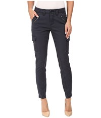 Jag Jeans Angie Skinny Cargo Pants In Bay Twill Poseidon Women's Casual Pants Black