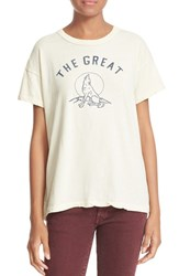 The Great Women's Graphic Print Cotton Tee