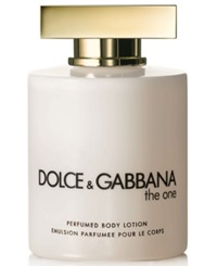 Dolce And Gabbana The One Perfumed Body Lotion 6.7 Oz