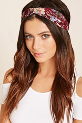 Forever 21 Floral Print Headwrap