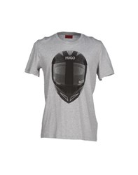 Hugo Topwear T Shirts Men Grey