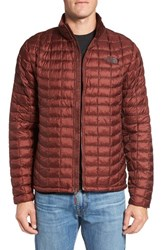 The North Face Men's Primaloft Thermoball Tm Full Zip Jacket Sequoia Red