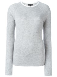 Rag And Bone Rag And Bone Crew Neck Sweater Grey