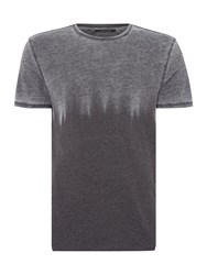 Label Lab Parky Burnout Flame Tee Charcoal
