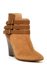 Joe's Jeans Belong Ankle Wedge Boot Beige