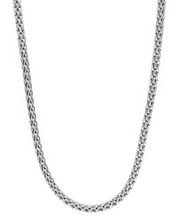 Classic Chain Silver Slim Necklace 16'L John Hardy Red