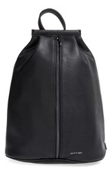 Matt And Nat 'Lawrence' Faux Leather Backpack Black