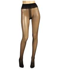 Wolford Individual 10 Back Seam Tights Black Hose