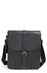 Men's Ted Baker London Messenger Bag Black