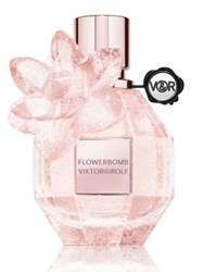 Viktor And Rolf Flowerbomb Pink Crystal Limited Edition Fragrance 1.7 Oz. No Color