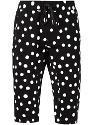 Stampd Polka Dot Print Shorts Black