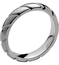 Chaumet Torsade De Platinum Round Wedding Band