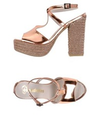 Espadrilles Sandals Copper