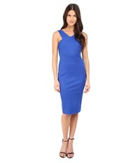 Zac Posen Sleeveless Sheath Dress Royal Blue Women's Dress