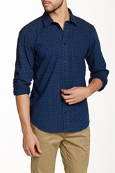 Globe Hyde Chambray Shirt Blue