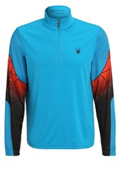 Spyder Webstrong Long Sleeved Top Blue