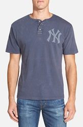 Red Jacket 'New York Yankees Luther' Henley Navy