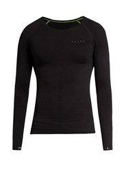 Falke Long Sleeved Compression Performance T Shirt Black Multi