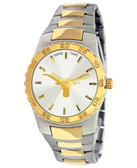 Game Time Men's Texas Longhorns Executive Series Watch Silver Gold