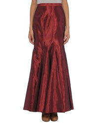 Ella Singh Skirts Long Skirts Women Maroon