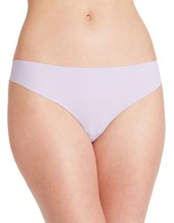 Calvin Klein Invisibles Thong Panty Fresh Lavender