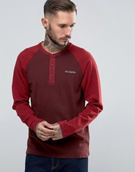 Columbia Ward River Ls Baseball Henley Elderberry Red