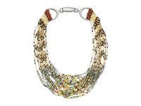 Gypsy Soule Gsdn15382 Bronze Gold Green Necklace