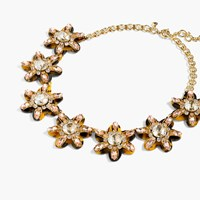 J.Crew Petal Burst Necklace Ecru