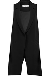 Elizabeth And James Neema Crepe Vest Black