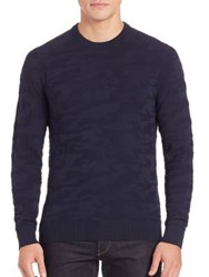 Michael Kors Techy Camouflage Sweatshirt Midnight
