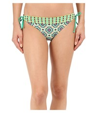 Prana Saba Bottom Cool Green Sundial Women's Swimwear