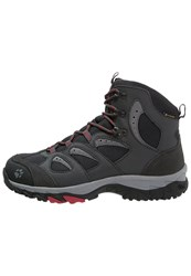 Jack Wolfskin Mtn Storm Texapore Mid Walking Boots Racing Red Dark Grey