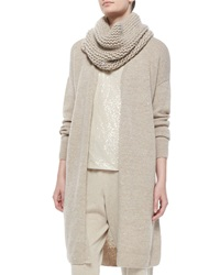 Lafayette 148 New York Hand Knit Tube Scarf