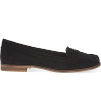 Miss Kg Mallori Suede Loafers Black